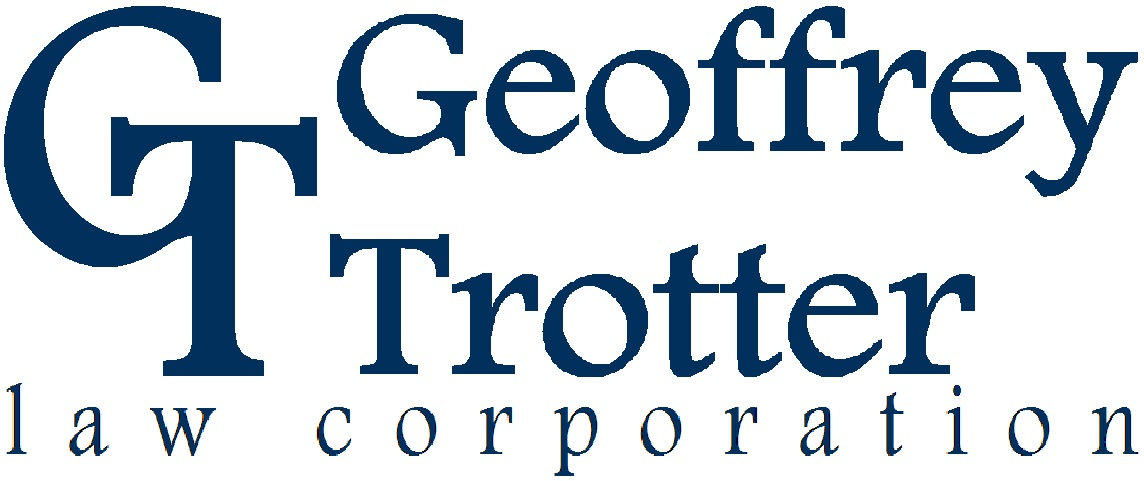 Geoffrey Trotter Law Corporation logo block